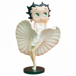 Betty Boop Cool Breeze White Dress