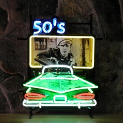 50's Drive In neon