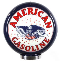 Sapfsäul Globe American Gasoline