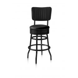 Retro Barhocker BS 29-66CB Full Black