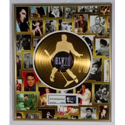 "Vergoldete Schallplatte - Elvis Presley ""75th birthday"""