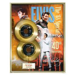 """Vergoldete Schallplatte - Elvis Presley """"The 68 Special"""""""
