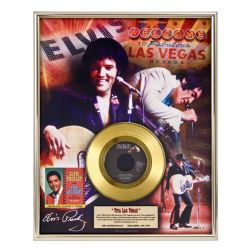 "Vergoldete Schallplatte- Elvis Presley ""Viva Las Vegas"""