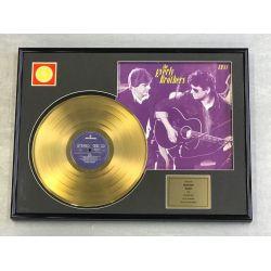 "Vergoldete Schallplatte - THE EVERLY BROTHERS ""EB 84"""