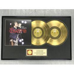 """Vergoldete Schallplatte  - THE DOORS """" LIVE AT THE BOWL '68"""""""