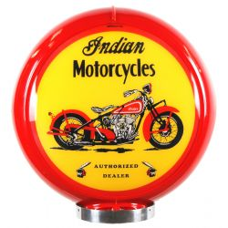 Sapfsäul Globe Indian Motorcycles Red