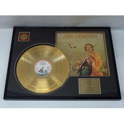 """Vergoldete Schallplatte - Jimi Hendrix """"Experience"""""""