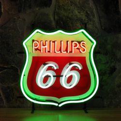 Phillips 66 neon