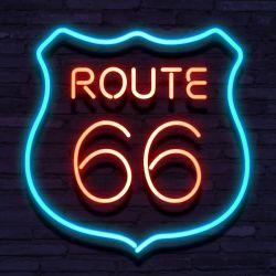 Neon ROUTE 66