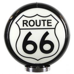 Sapfsäul Globe Route 66