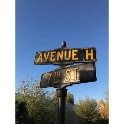 Amerikanisches Straßenschild