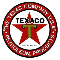 Emailleschild The Texas Company